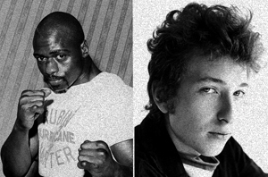 Rubin Carter and Bob Dylan