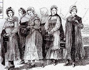 """Illustration of the """"Cassette Girls"""""""