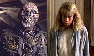 Kane Hodder as Jason Voorhees, and Lar Park Lincoln as Tina Shepard