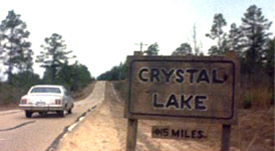 Still from Friday the 13th Part VII, showing Hwy 225, Bay Minettte, Alabama