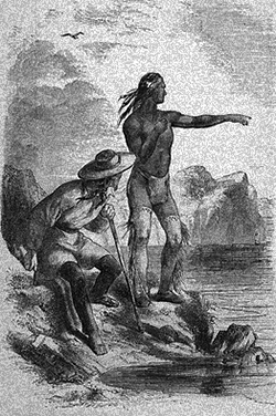 Illustration of Squanto