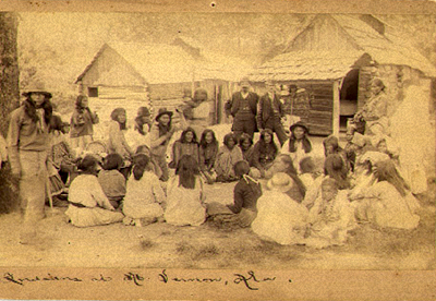 Indian Camp, Mt. Vernon, Alabama