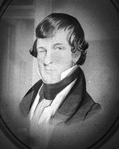 Photo: Michael Krafft, founder of Cowbellion de Rakin Society, 1830's. The Mobile Carnival Museum.