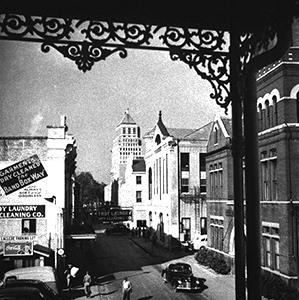 Photo: St. Emanuel, Downtown Mobile. 1935.
