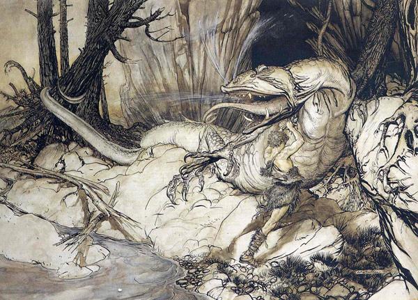 Artwork by Arthur Rackham
