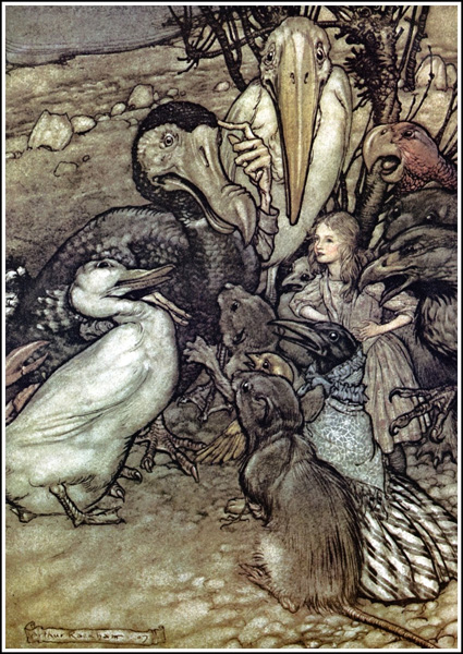 Alice In Wonderland - But Who Has Won