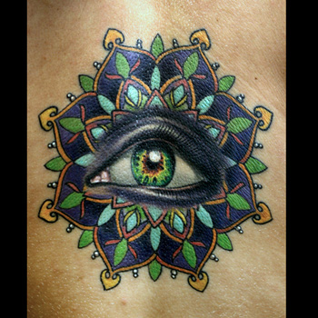 Tattoo by Sean Herman on Kerry Parks