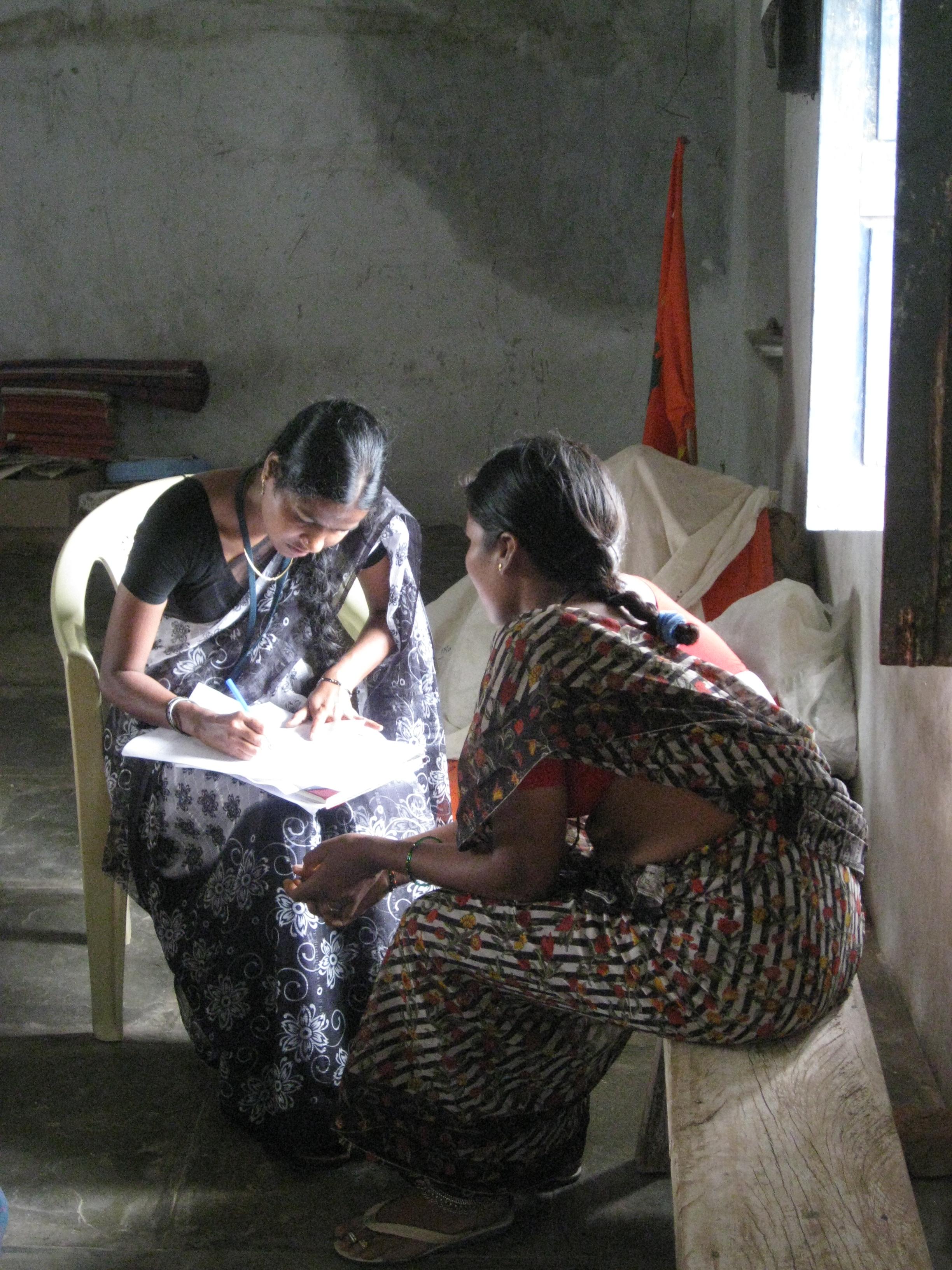 Antenatal check-up, Telangana, India