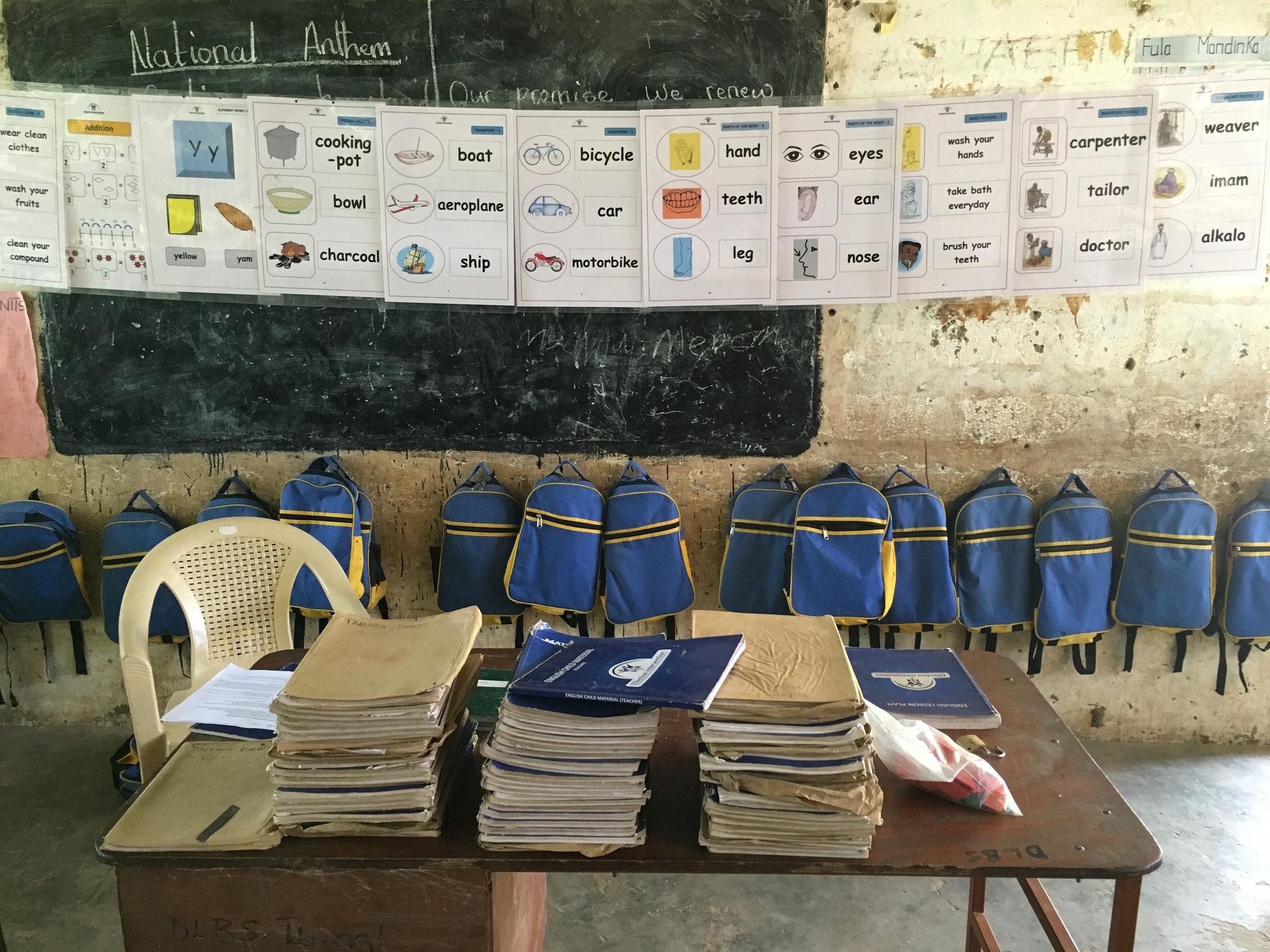 School materials, Gambia