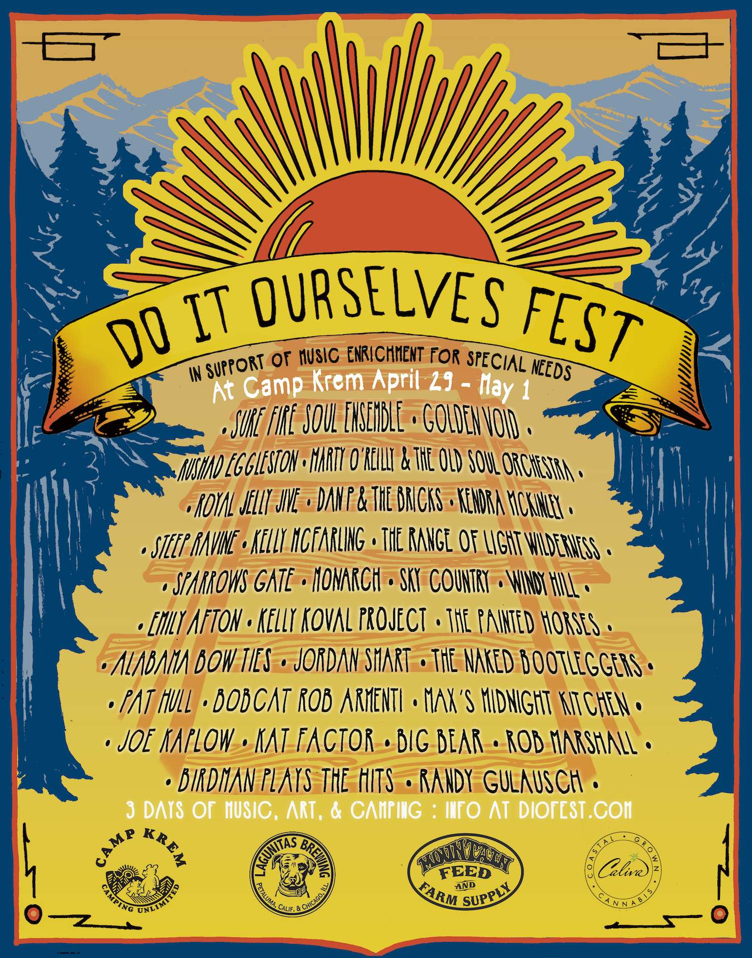 poster art by Lucas Elmer