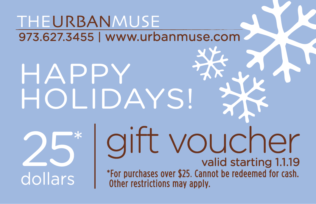 Gift voucher valid starting 1.1.19