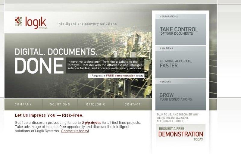 Freelance design and content for Logikull.com