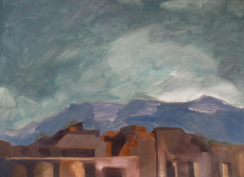 Pompeiian Landscape (memory), 2009