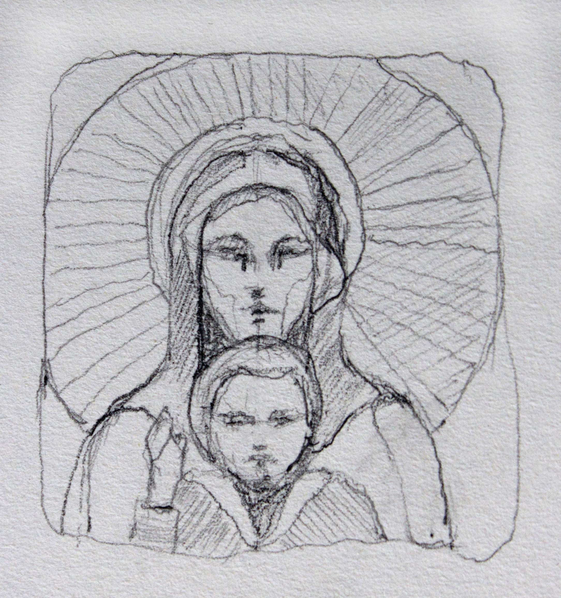 Mother and Child, Santa Maria in Trastevere, 2015