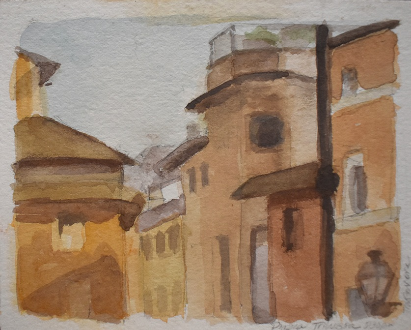 Piazza Trilussa, Trastevere, 2010