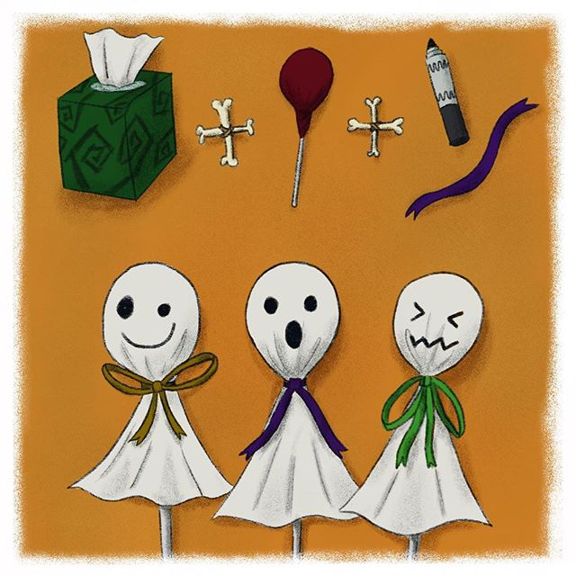 Here's one of my favorite spooky treats! Wrap a tissue over a lollipop and tie it with a ribbon! And don't forget to draw your best ghost face with a marker. Voilà! You have your own ghost lollipop. I can't wait to share with my friends at school 👻🍭🖍#tommythedinosaur #halloweentreats #halloweencrafts . . . #educational #childrensbooks #childrensbook #childrenbooks #read #readingisfun #goodreads #instabooks #bookworm #school #library #kidsbooks #booklovers #socialjustice #socialchange #literacy #mommyblogger #blog #teacher #school #kidlit #kidsbookstagram #kidsreading #picturebooks #momblog #mommylifestyle