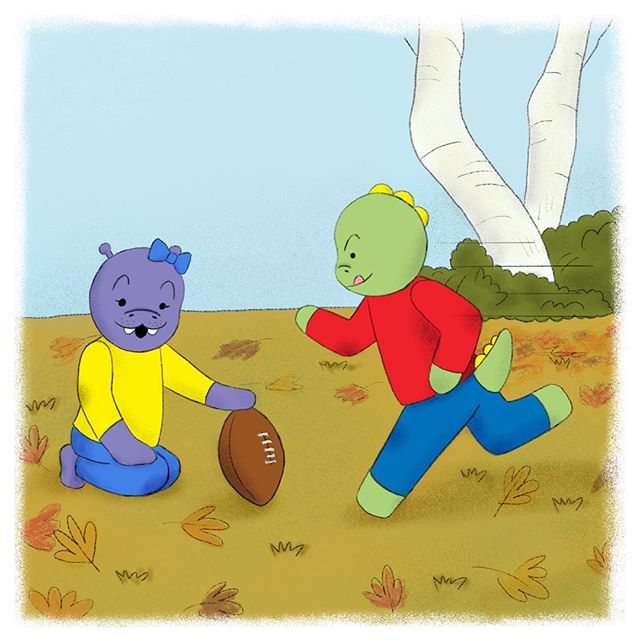 Thanksgiving is almost here and that means the Thanksgiving Day kick off is coming soon! Lulu found a football and she asked if I wanted to practice with her. She said that she'd hold the football and I'd get to kick it. Hmmmm 🤔 This all seems very familiar. 🏈🍁🤞 #thanksgiving #friendsgiving #thankful • • • #educational #childrensbooks #childrensbook #childrenbooks #read #readingisfun #goodreads #instabooks #bookworm #school #library #kidsbooks #booklovers #socialjustice #socialchange #literacy #mommyblogger #blog #teacher #school #kidlit #kidsbookstagram #kidsreading #picturebooks #momblog #mommylifestyle