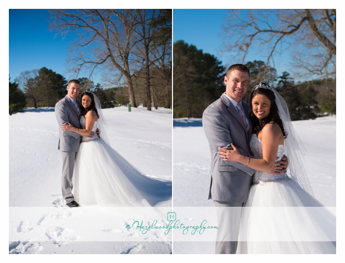 Snow day wedding