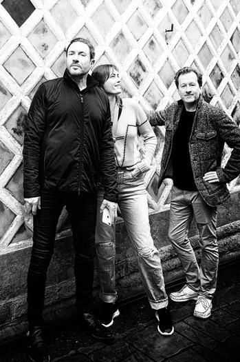 Pictured left to right: Simon LeBon (Duran Duran), Yasmin LeBon & Nick Wood