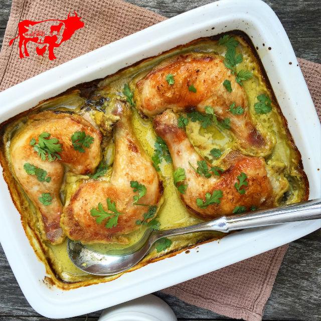 Roast Chicken Maryland Green Curry Photo: Tim Elwin