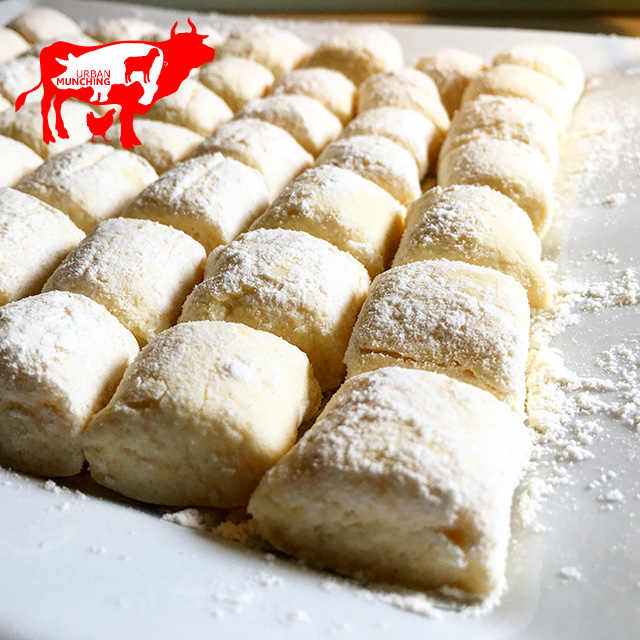 Freshly Made Ricotta Gnocchi Photo: Tim Elwin