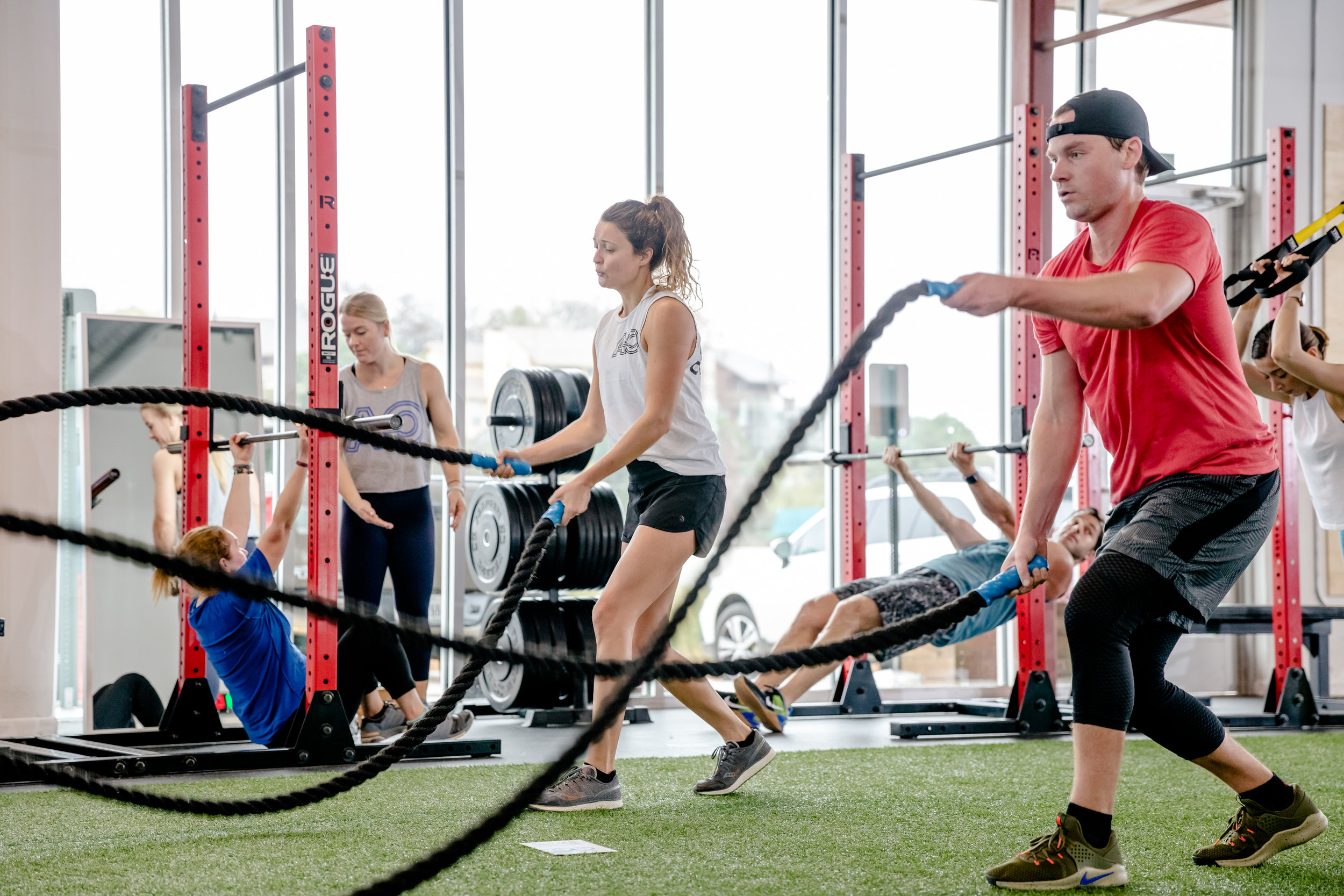 Small Group and Functional Fitness Training