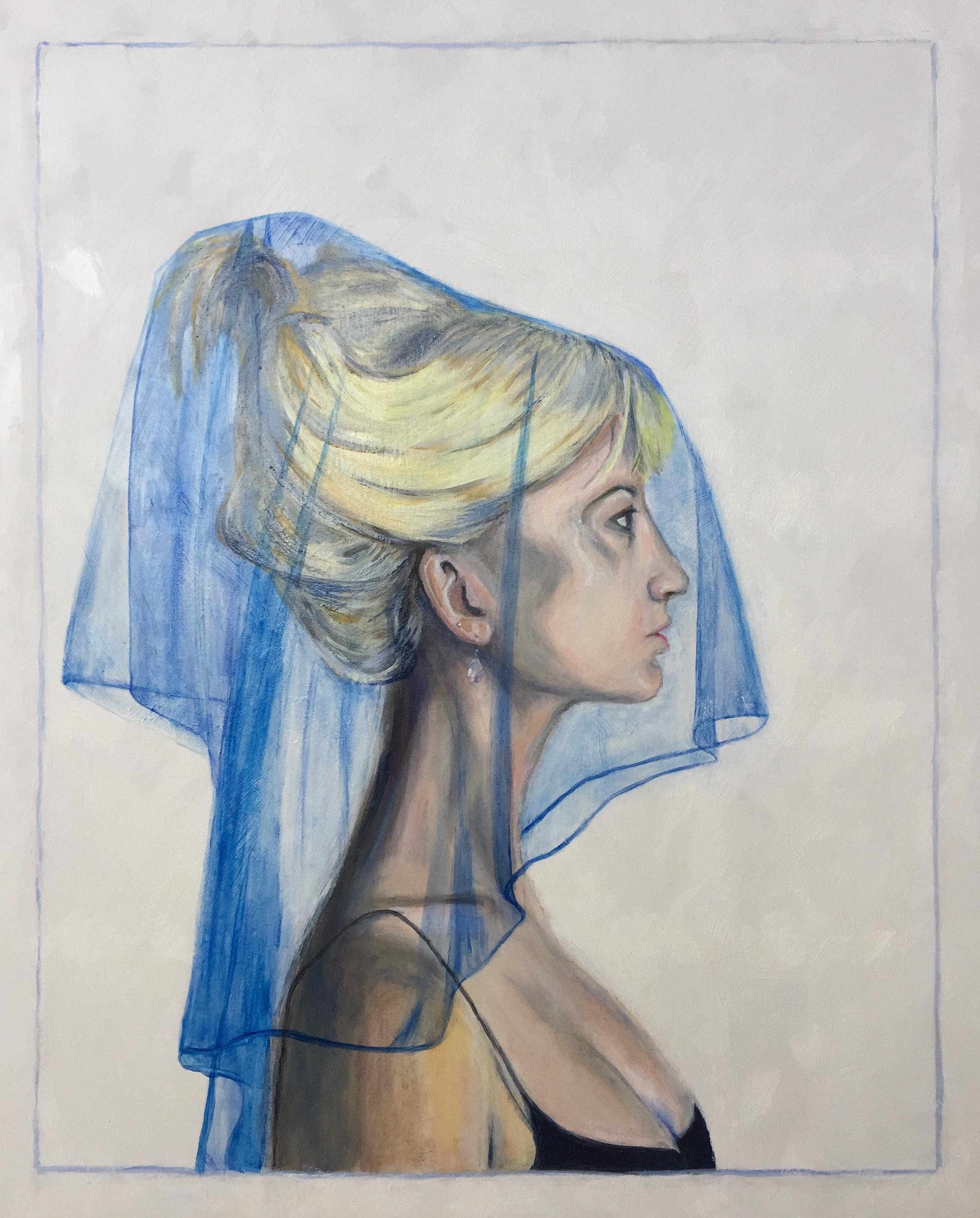 Tracey Yannopoulous -  Blue Veil