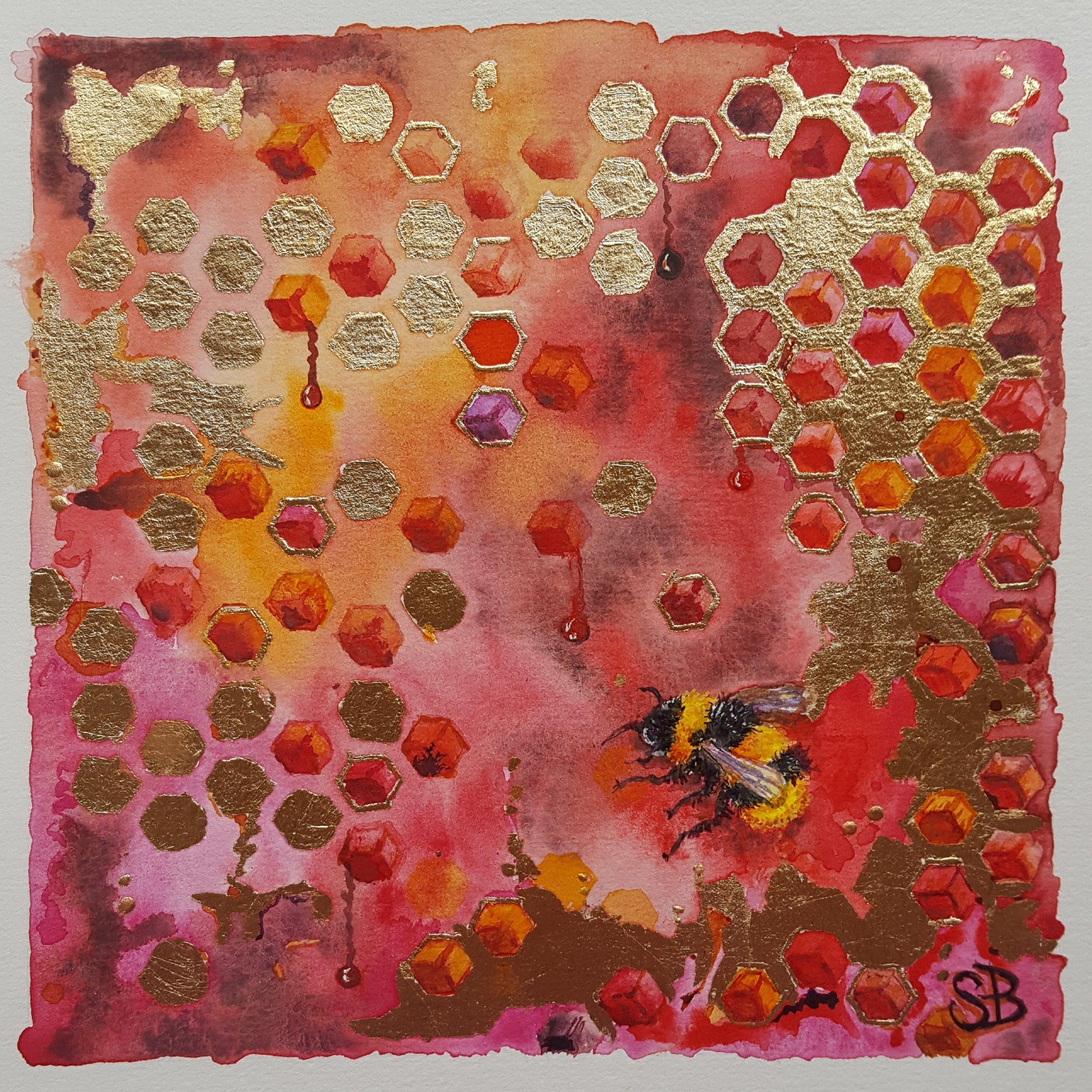 BOWEN Sally Bee Painting.jpg