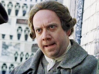 John Adams was portrayed (probably accurately) as a short-tempered curmudgeon genius by Paul Giamatti in an HBO mini-series named for #2 himself.