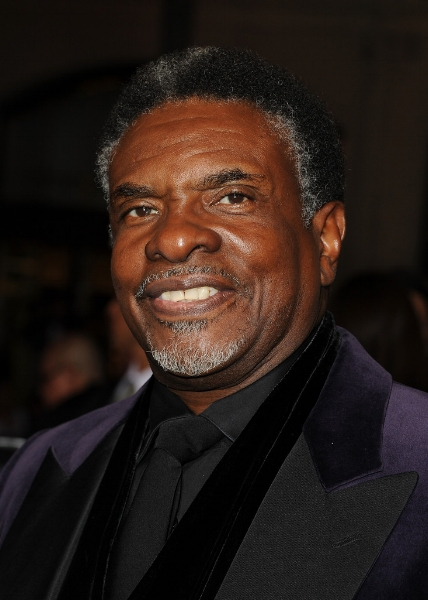 Silver-throated actor Keith David.