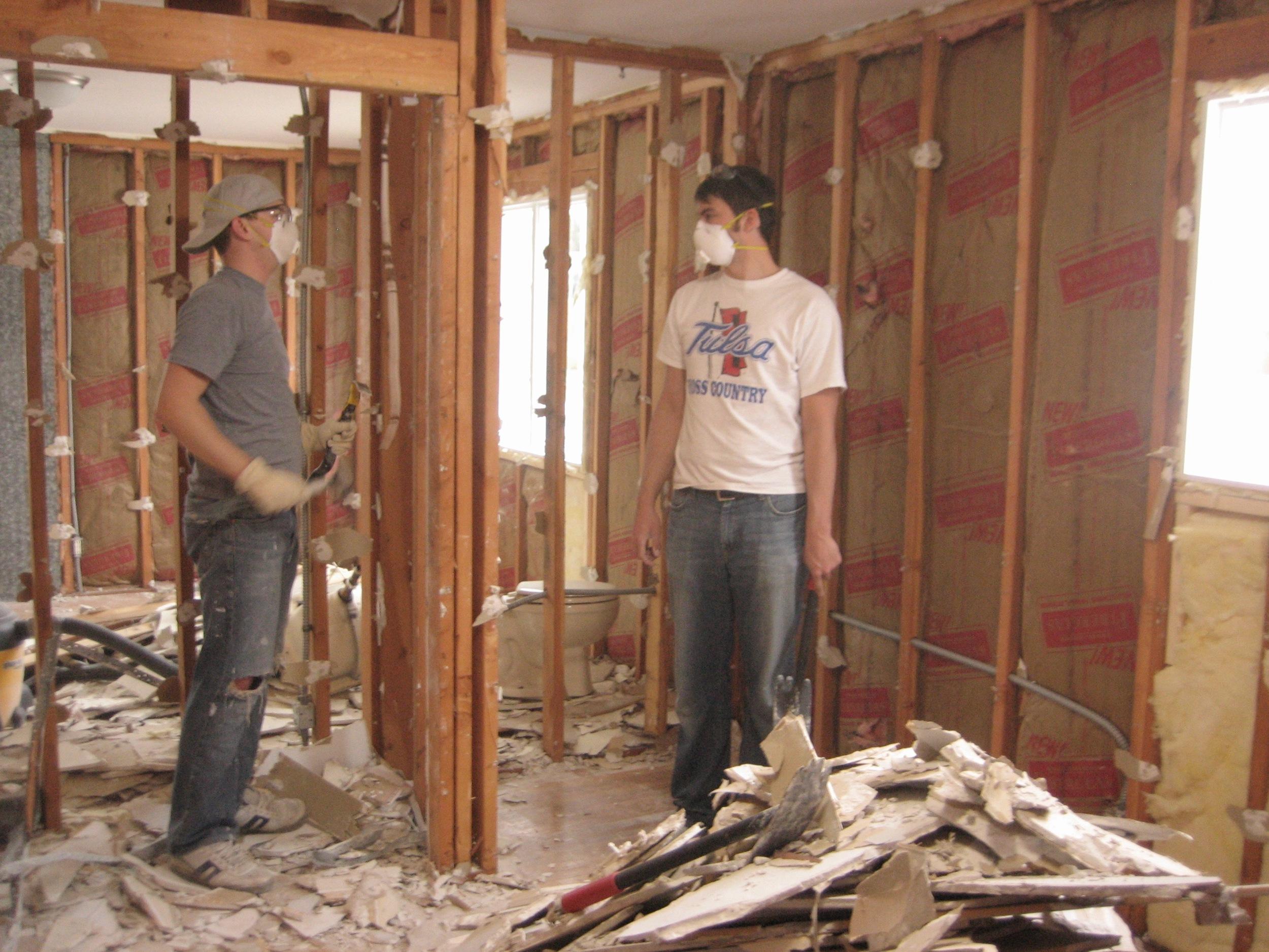 Master Suite Demolition