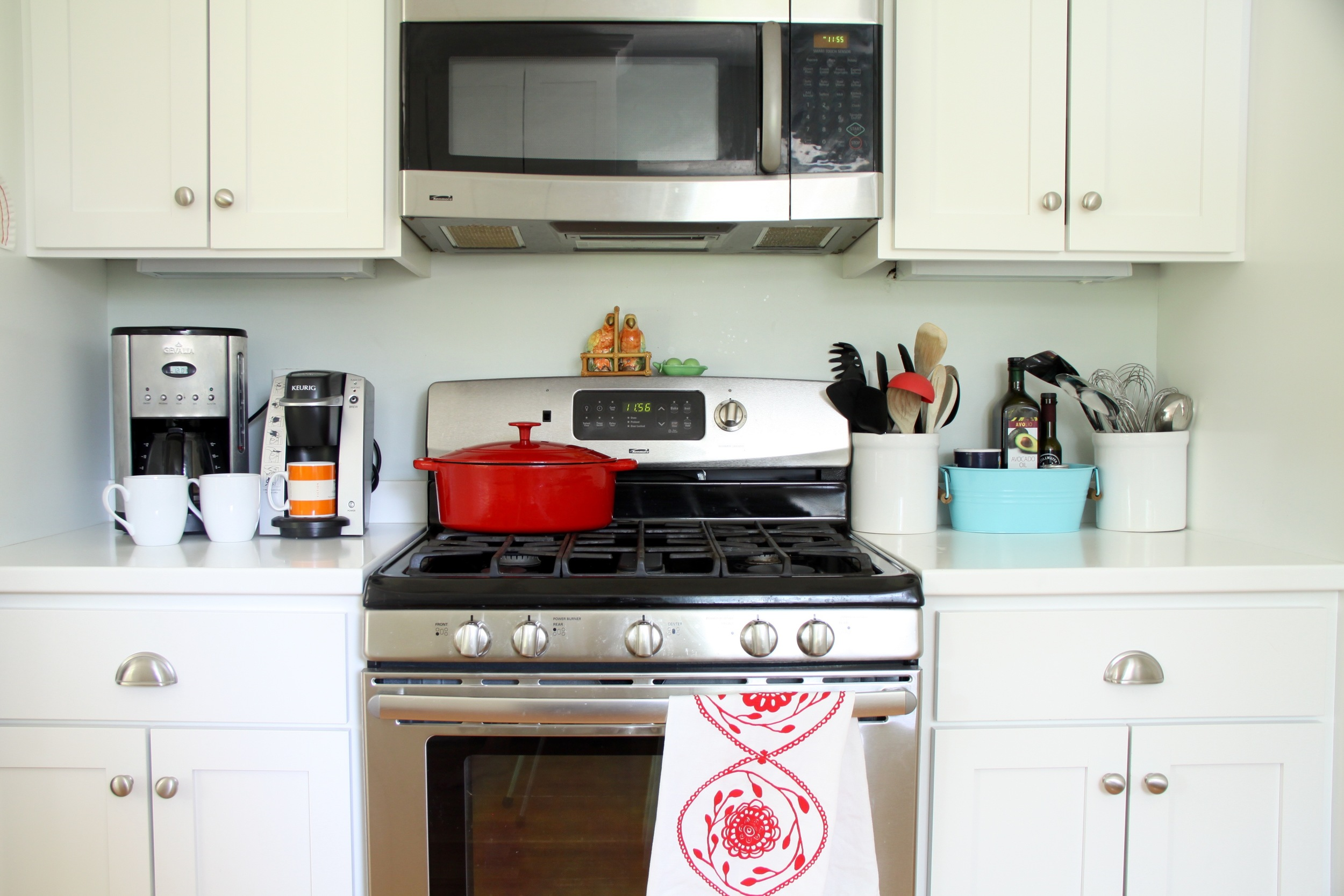 Kitchen Stove and Cooktop