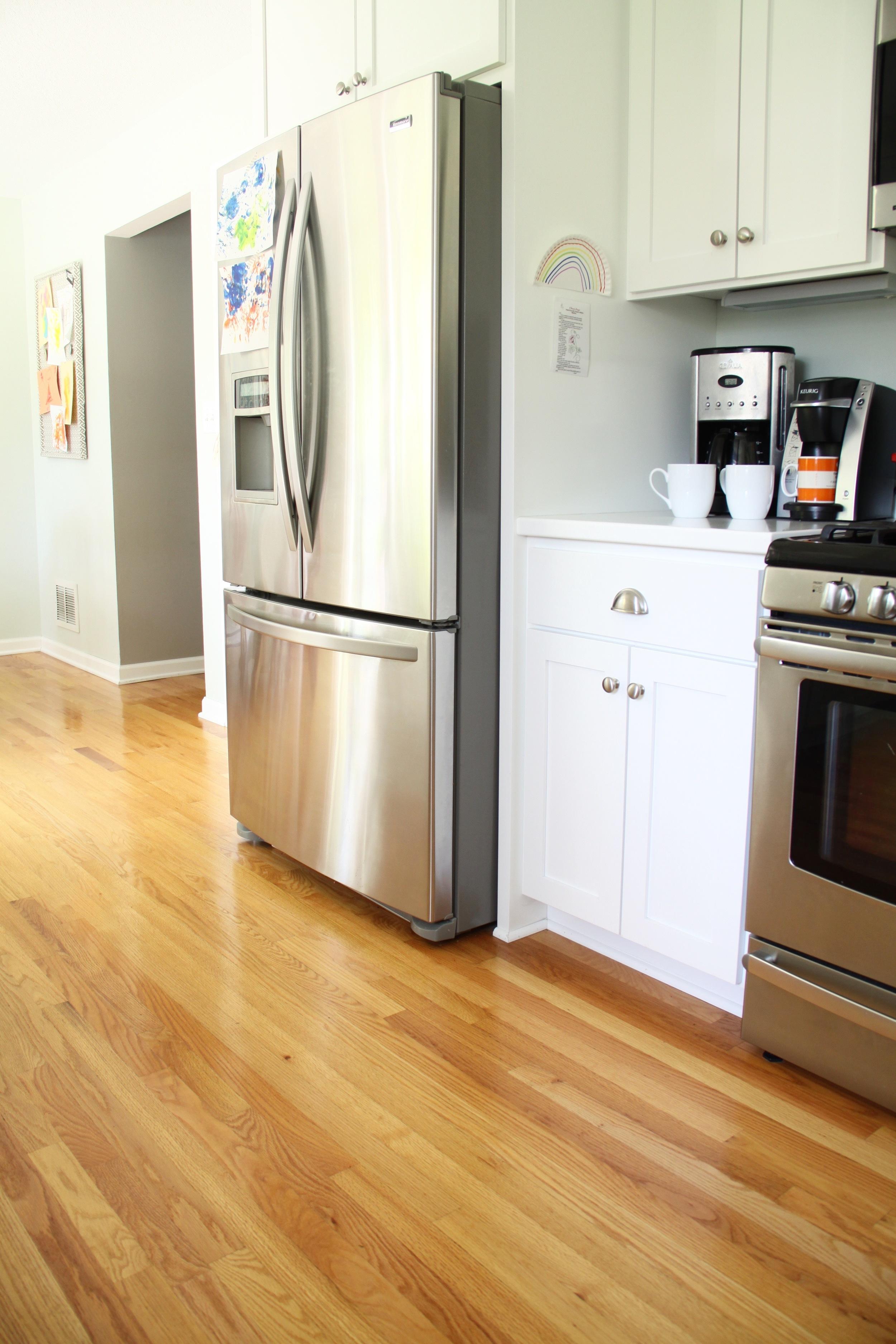 White Kitchen French Door Refrigerator