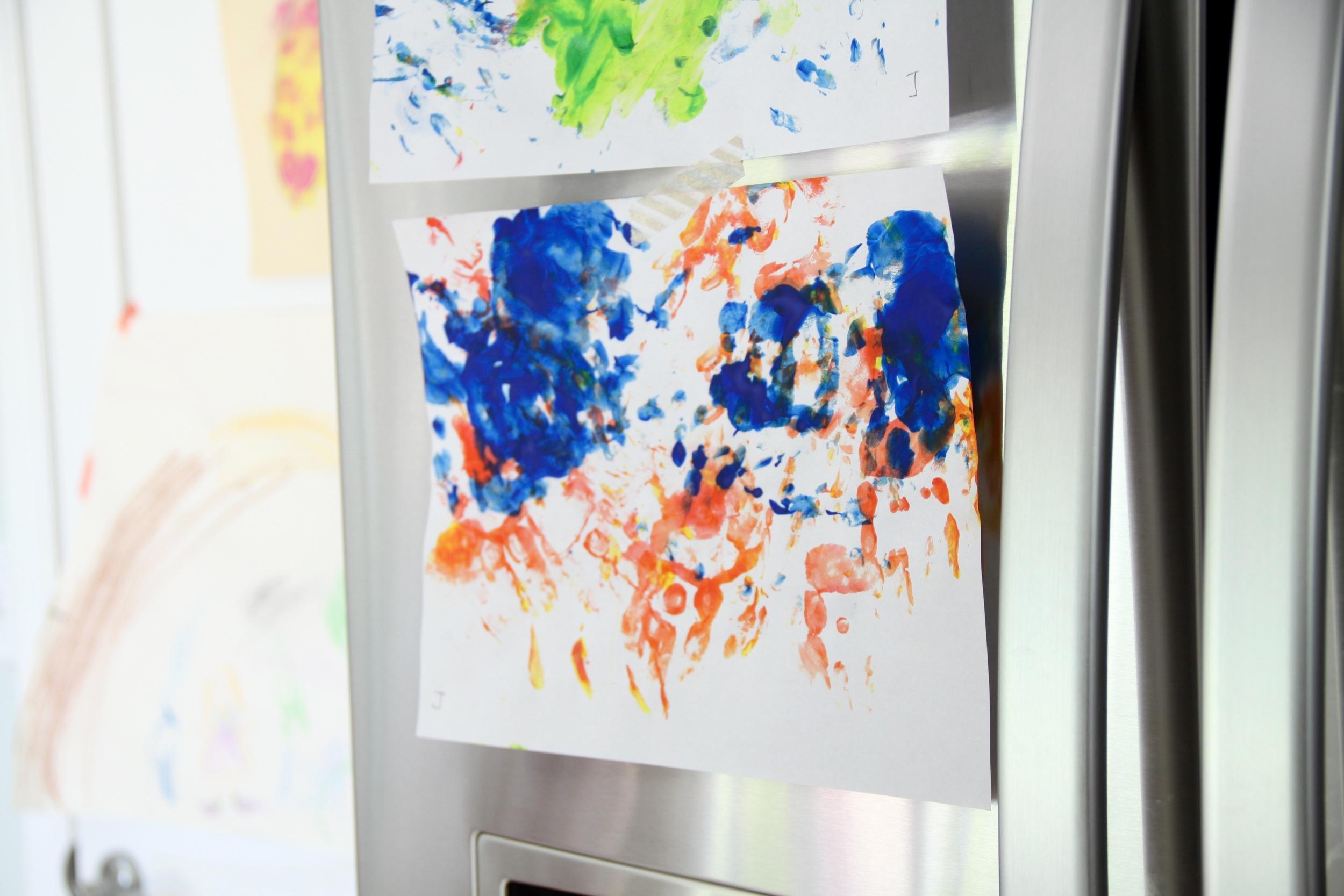 Kitchen Children's Art