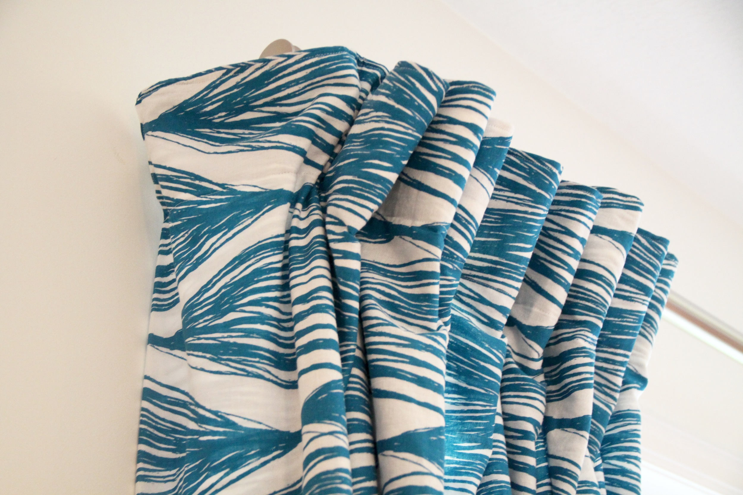 DIY Pinch-Pleat Curtains Return to the Wall
