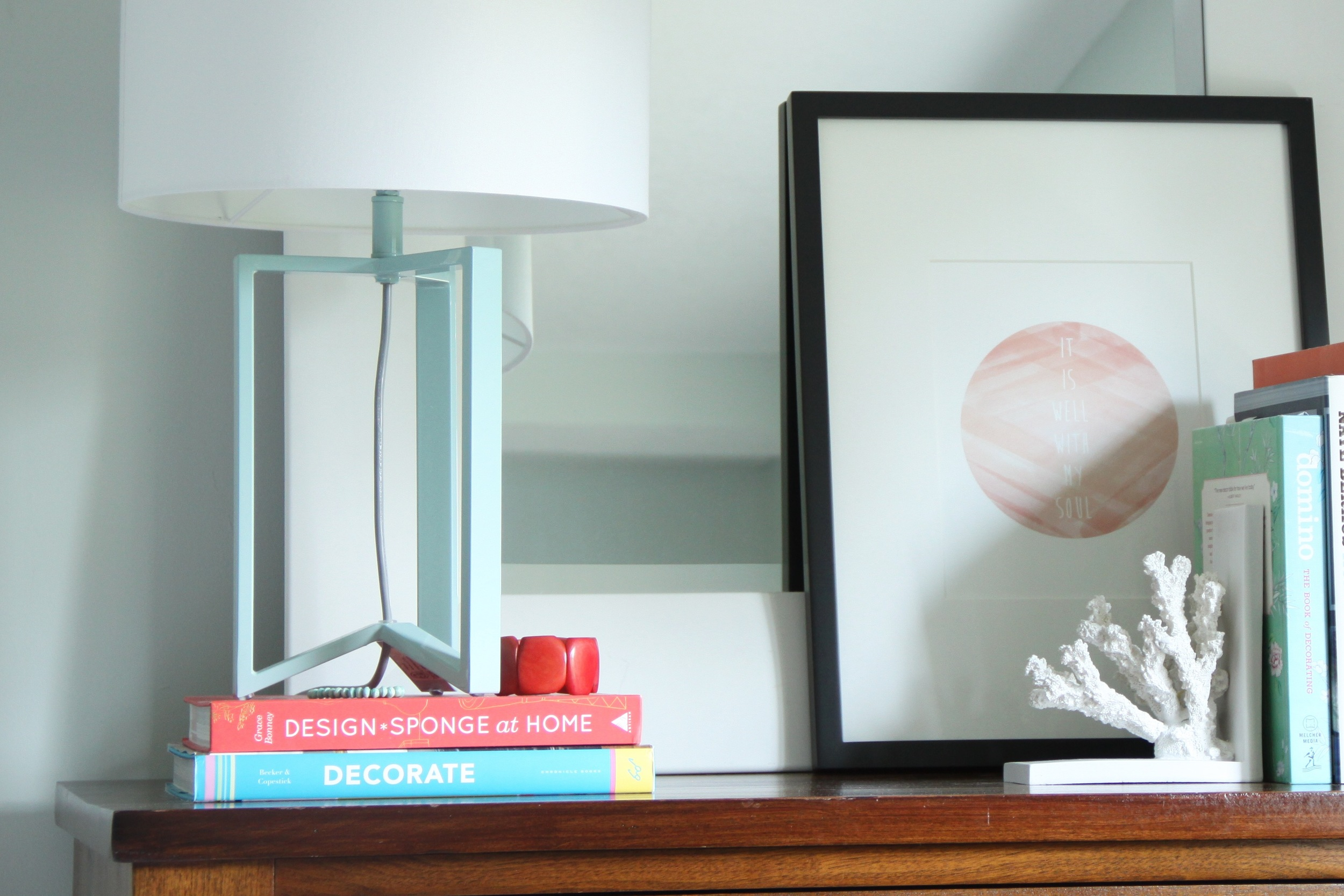 Using Jewelry and Books as Decor Items