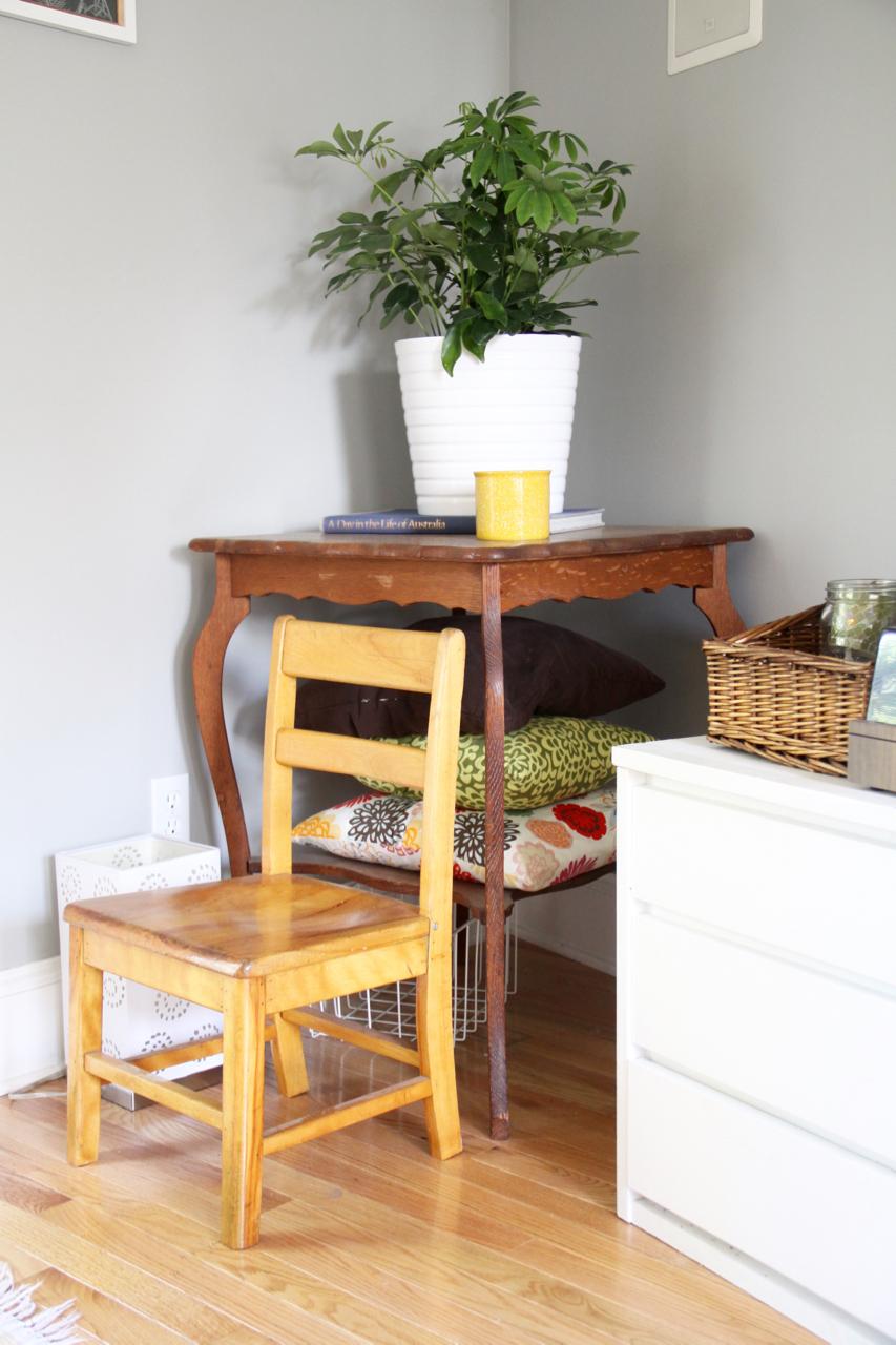 Child's Chair in Corner