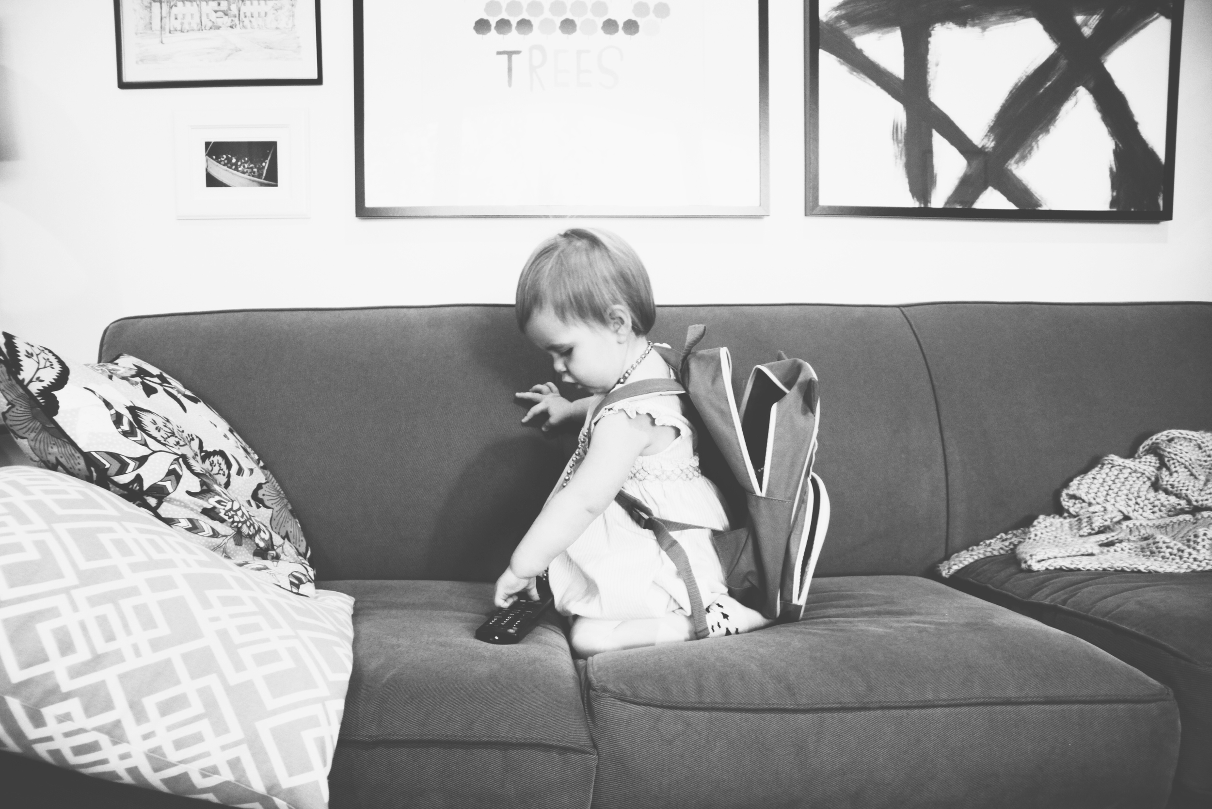 Baby on the Couch