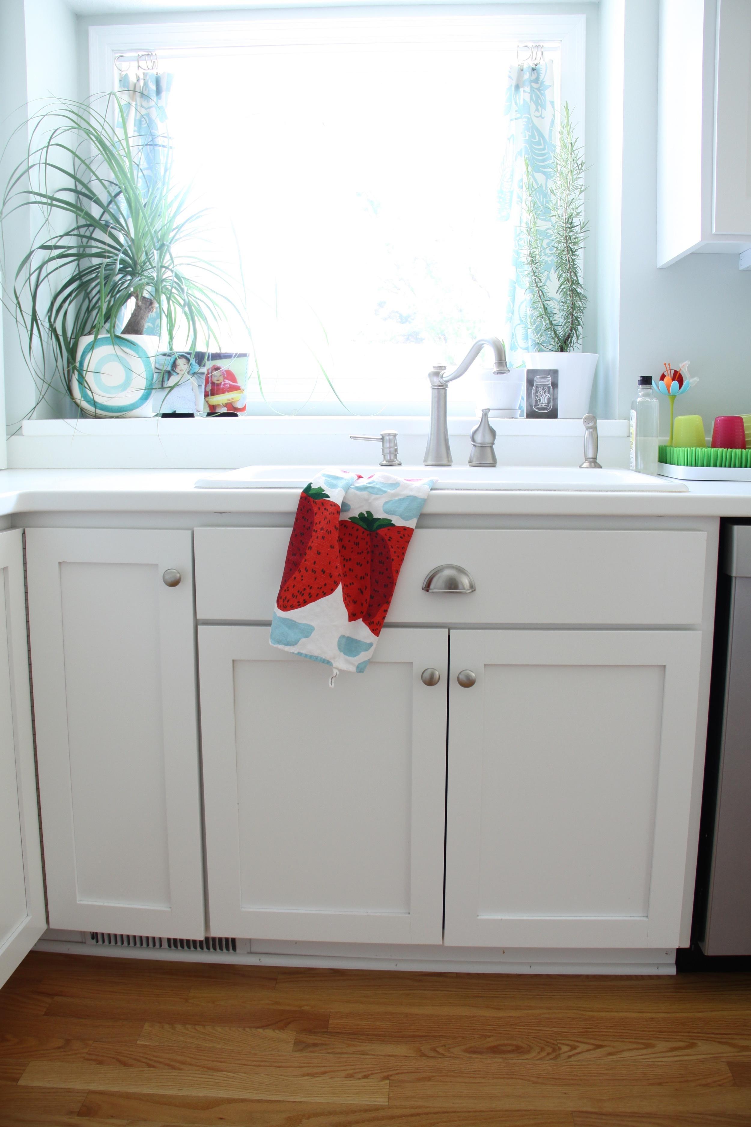Sherwin Williams Extra White Kitchen Cabinets