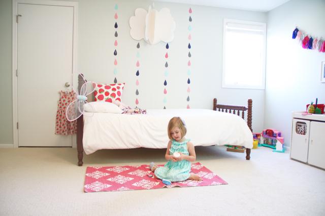 Colorful Girl's Room (Benjamin Moore Healing Aloe)