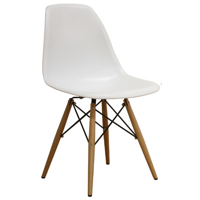 Molded Plastic Eames-type Chair