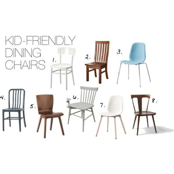 Kid Friendly Dining Chairs Modern Chemistry At Home