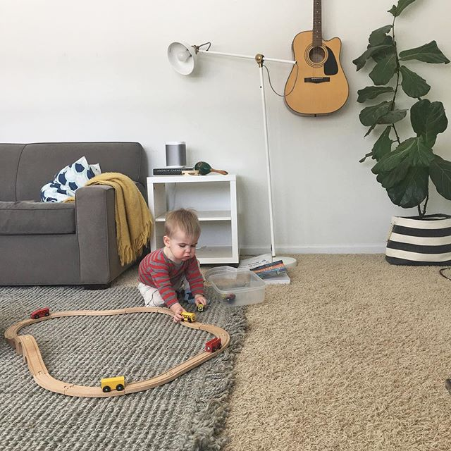 Serious question: Are all little boys born knowing how to make choo choo sounds? 🚂🤔