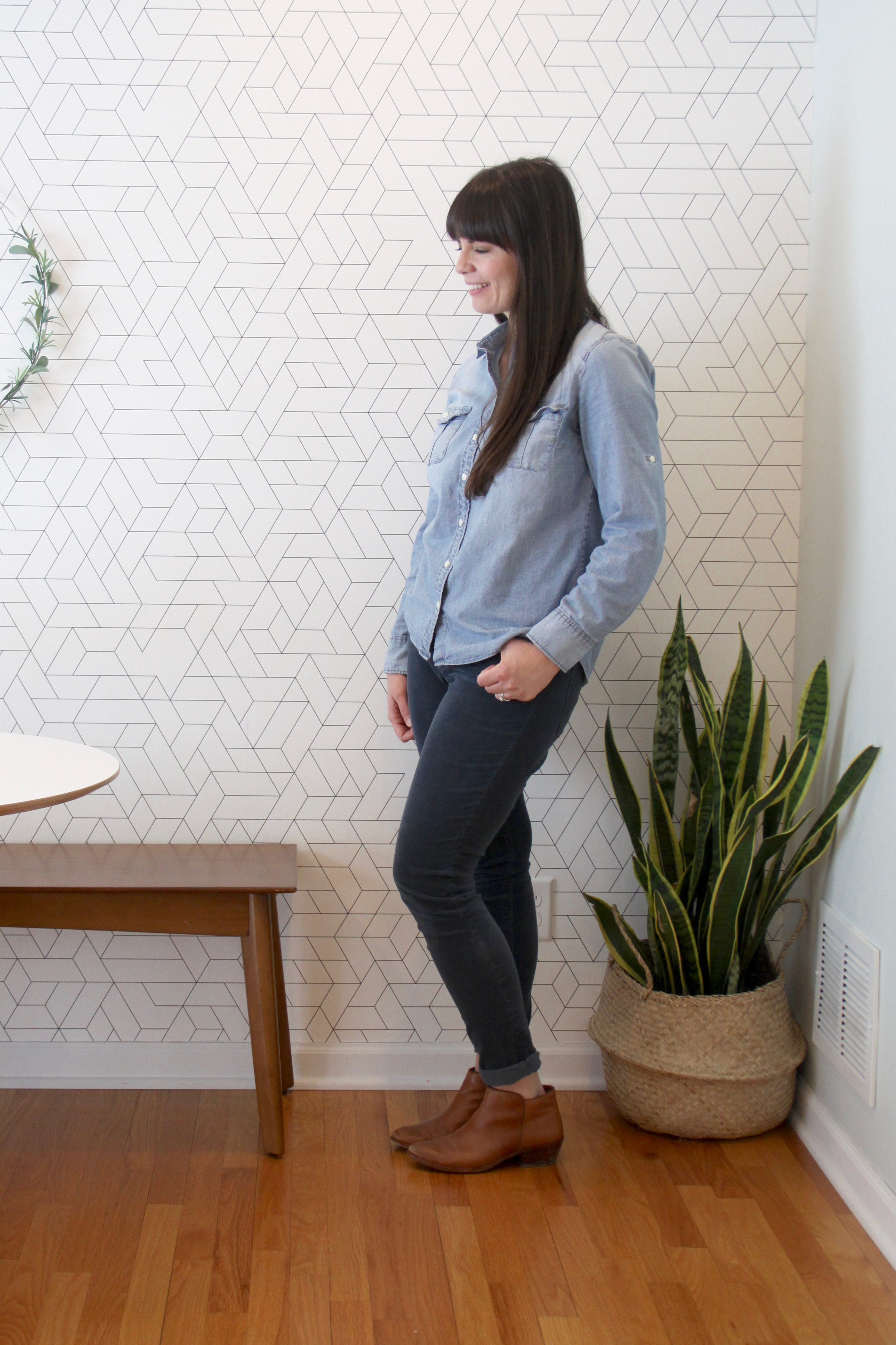 Spring 10x10 Challenge Chambray and Cords