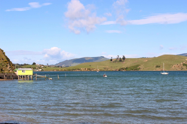 Boatshed at harbourside, ten minute walk away