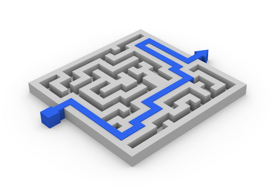 Maze Puzzle (Blender)