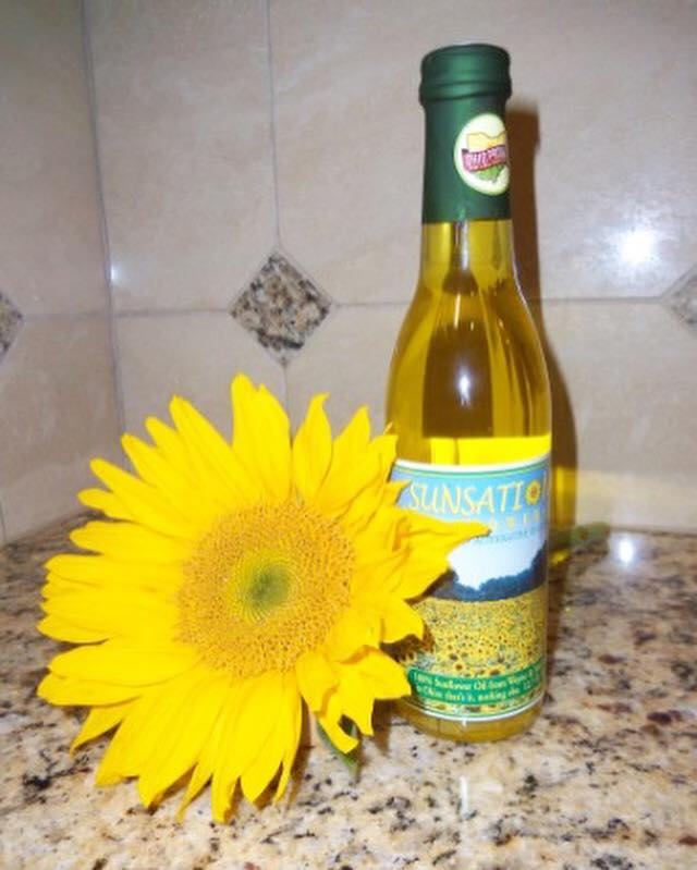 Sunsational Farms - Wayne County, OH - With over 40 acres of sunflower fields, this beautiful and car-stopping farm is all about producing freshly pressed oil for local markets. Dave, the main farmer at Sunsational, has been farming all his life -- as he says,