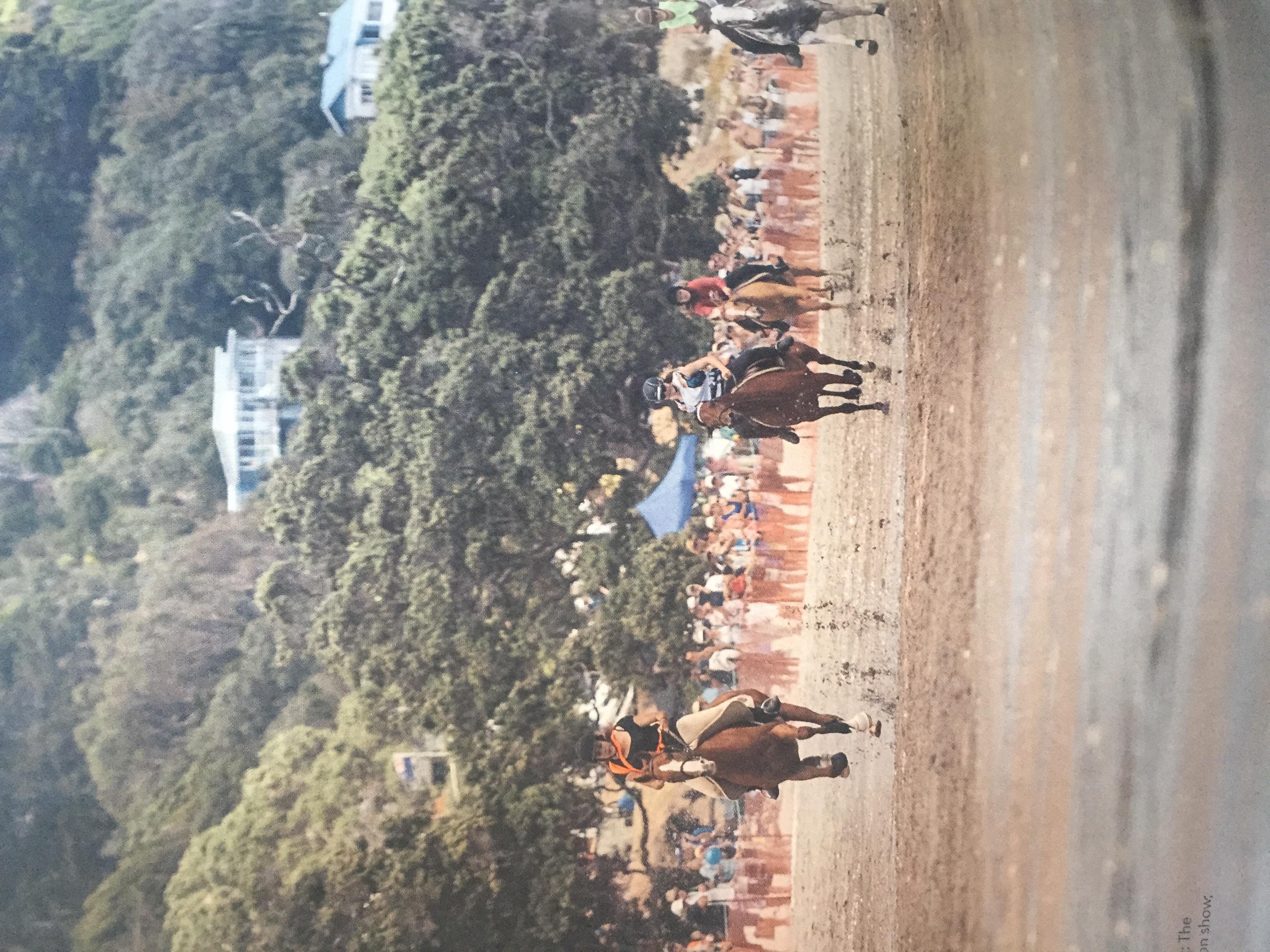 Onetangi horse races, Duncan Innes pg 66