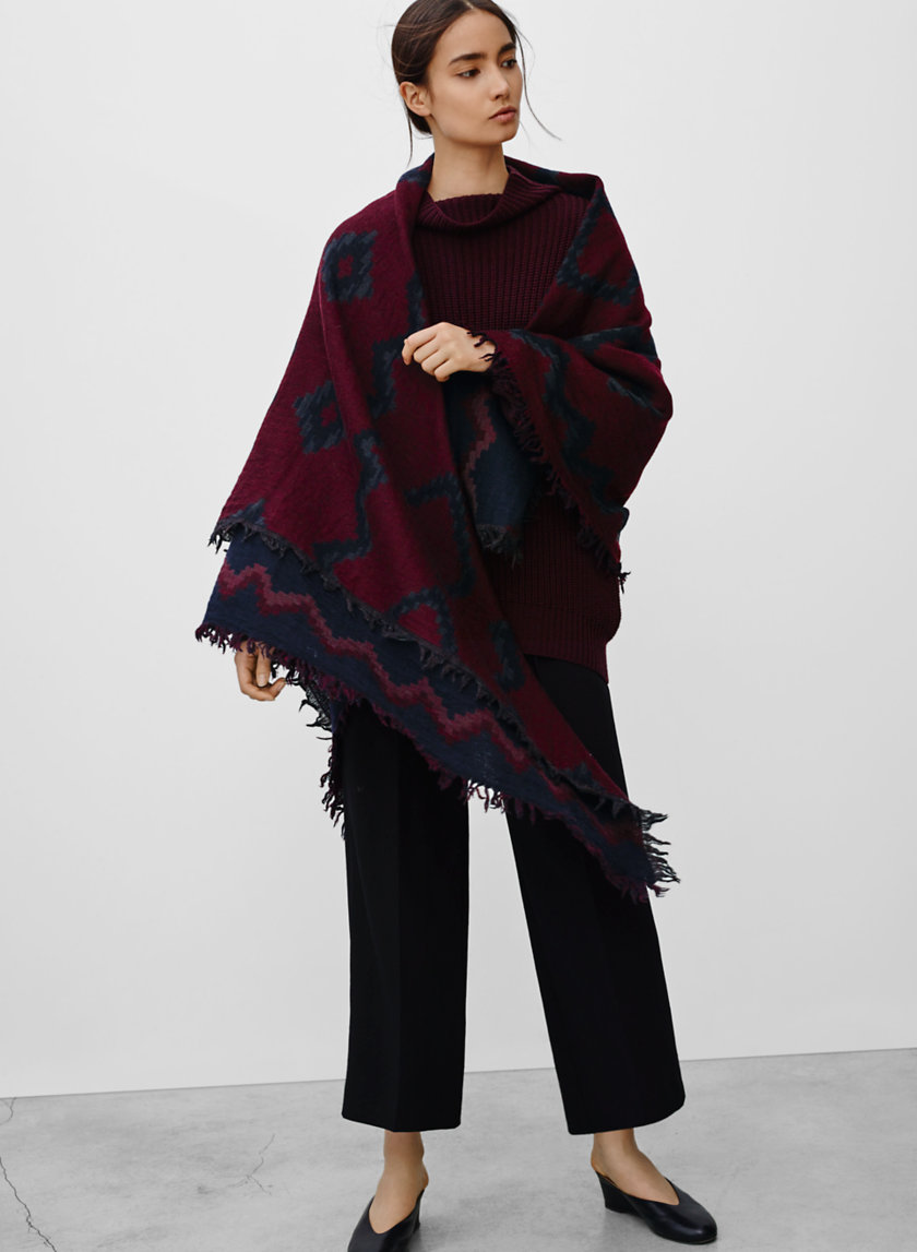 Wilfred - Diamond Mosaic Blanket Scarf