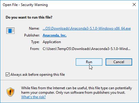 Jupyter Notebook on Windows 10 (Anaconda) — Taylered